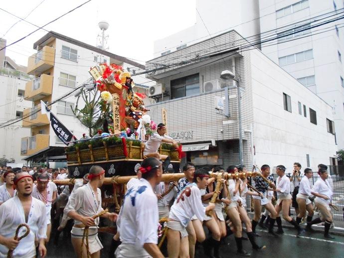 福岡のお祭り 博多祇園山笠