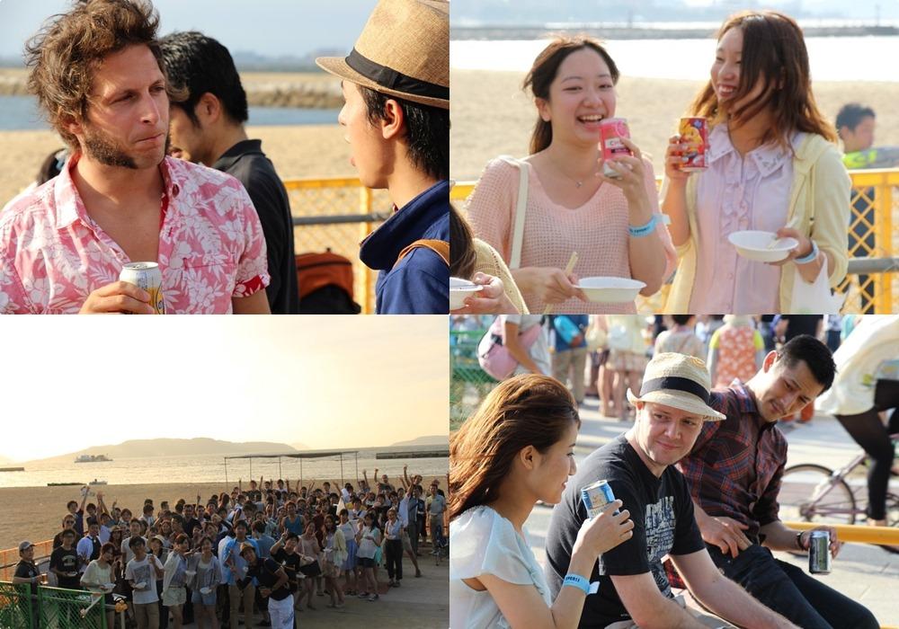 国際交流ビーチパーティー