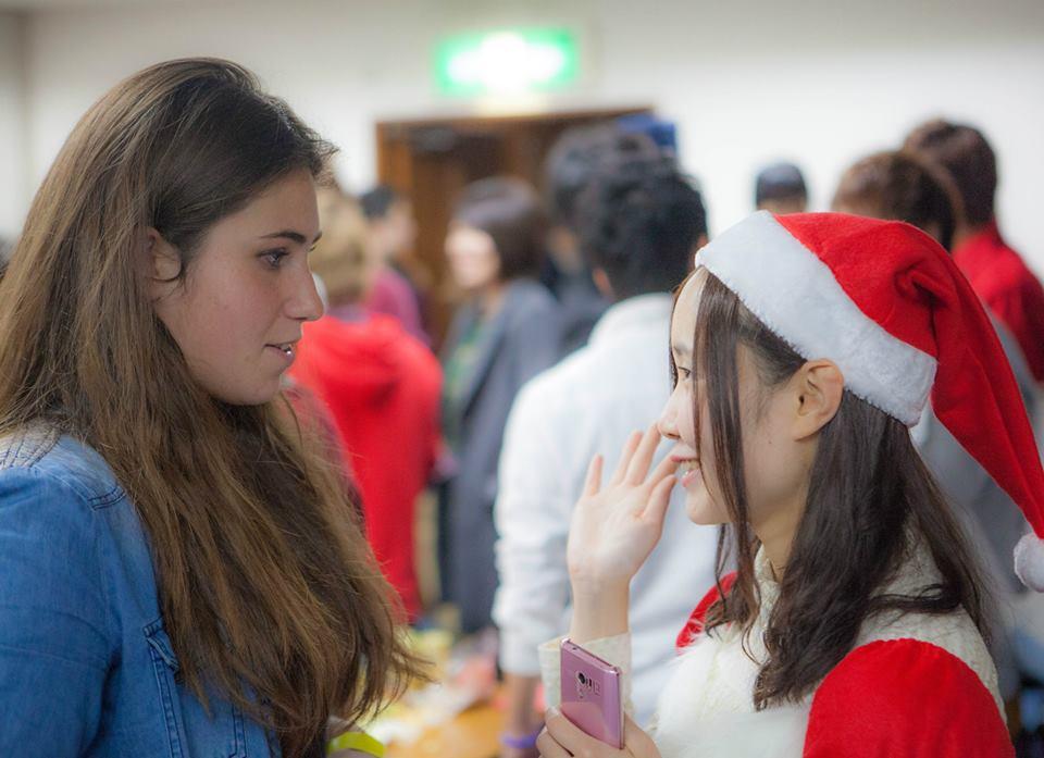 福岡の国際交流クリスマスパーティー