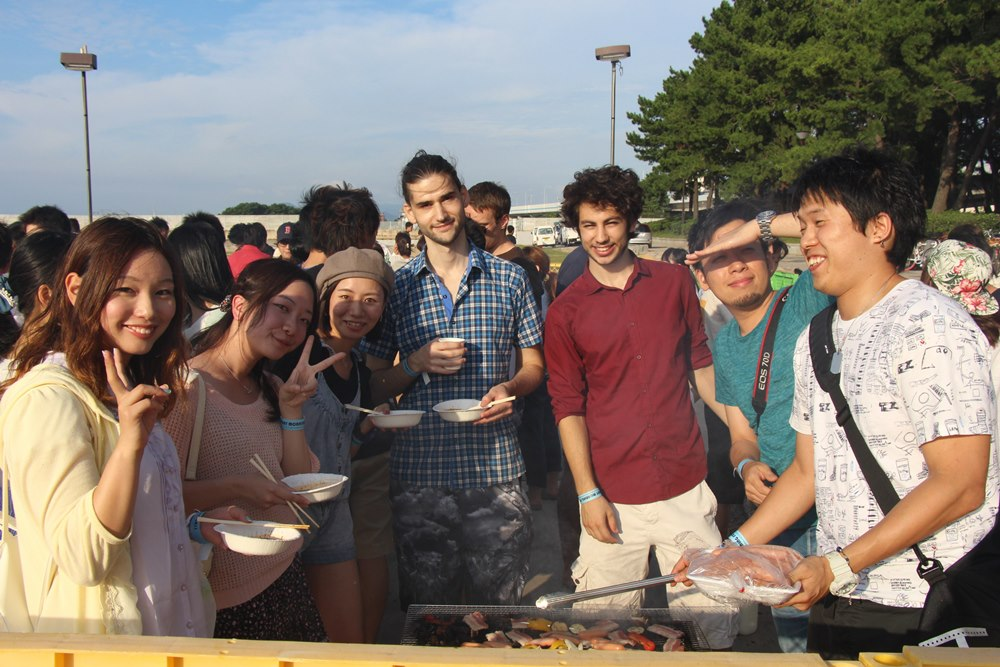 福岡の国際交流パーティー