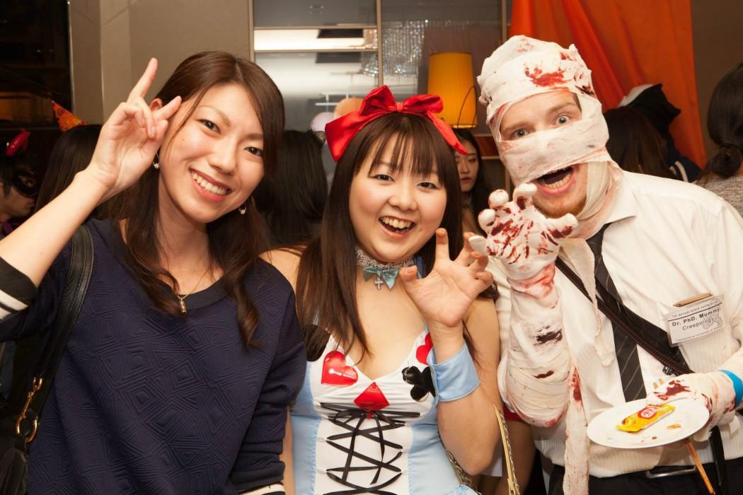 ハロウィンパーティーの仮装