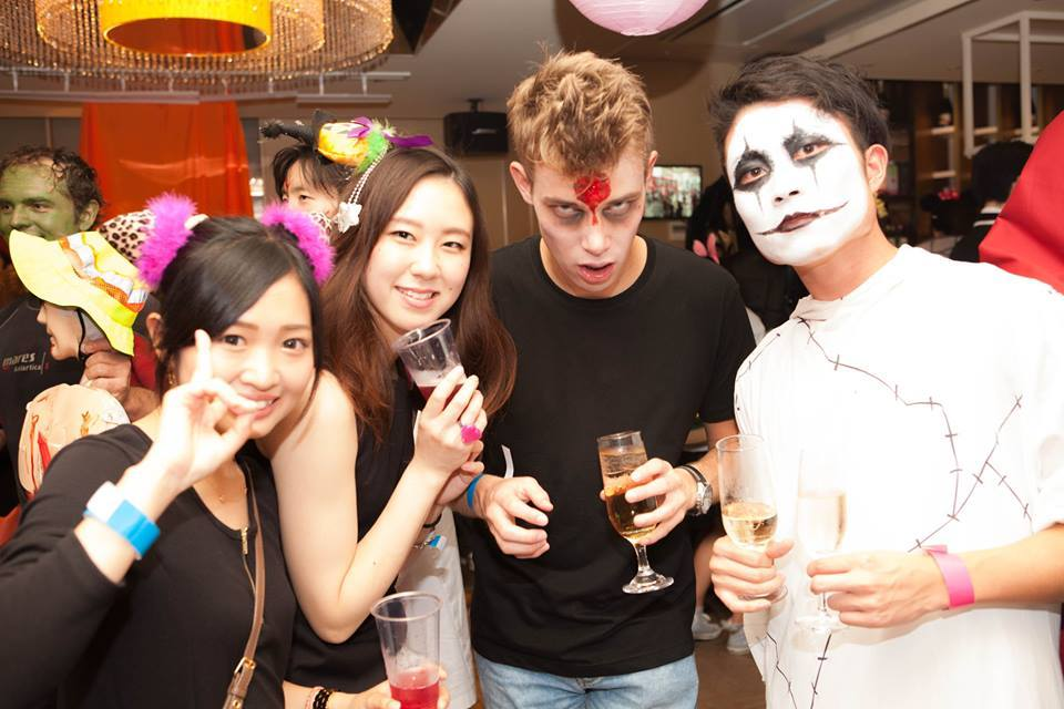 国際交流ハロウィンパーティー福岡の仮装