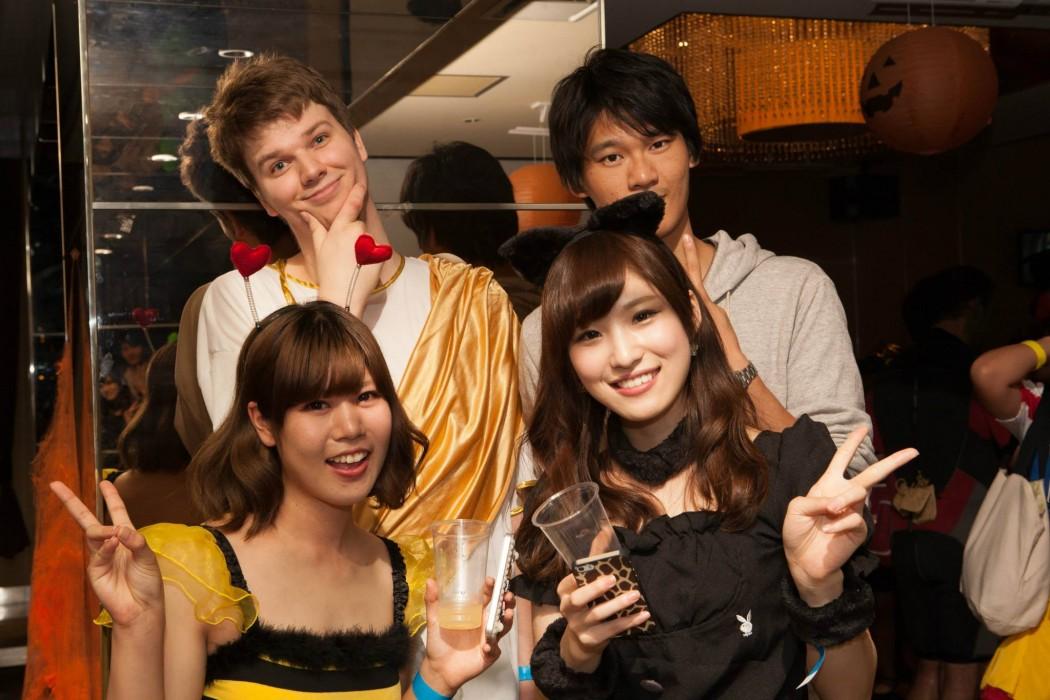 国際交流ハロウィンパーティー福岡 去年のイベントの様子